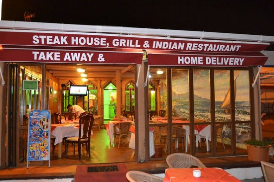 Flame steak house grill indian restaurant manilva - The grill house restaurant ...