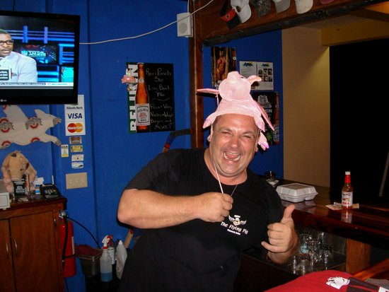 The Flying Pig : Very friendly and entertaining