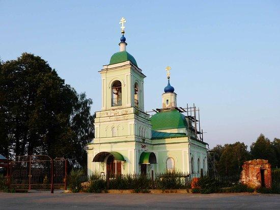 Shchelkovsky District, Ρωσία: Церковь Троицы Живоначальной в Рязанцах