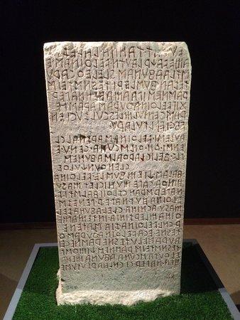 National Archaeological Museum: Inscrições