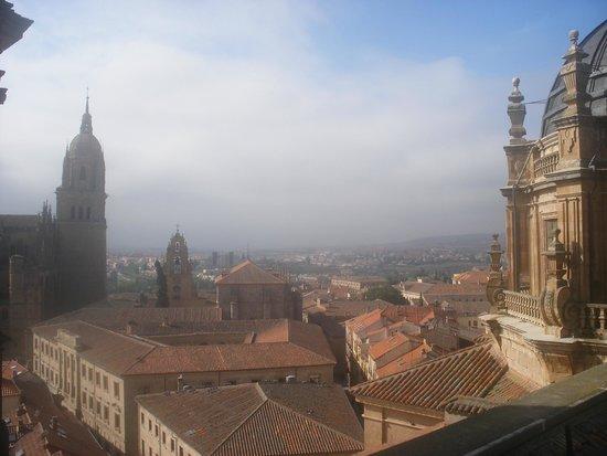 Scala Coeli Torres de la Clerecia : Vista desde las alturas