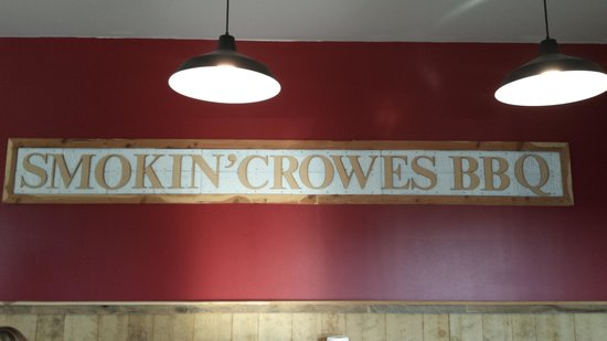 Hanover, IN: Smokin' Crowes BBQ
