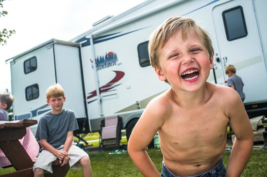 Caboose Lake Campground : Family-friendly park with something for everyone