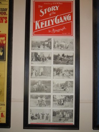 West Coast Heritage Centre, Zeehan: poster in Gaiety Theatre