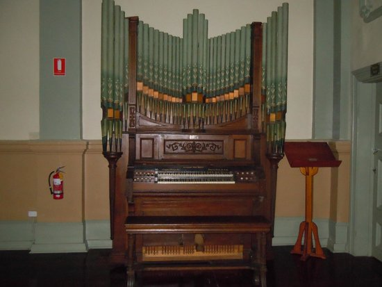 West Coast Heritage Centre, Zeehan: Organ in the Gaiety Theatre