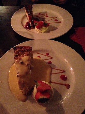 Millstone Restaurant: Dessert!