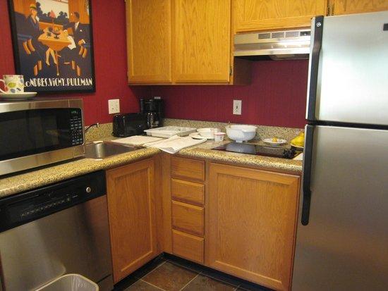 Residence Inn Provo : Kitchen in Studio Suite