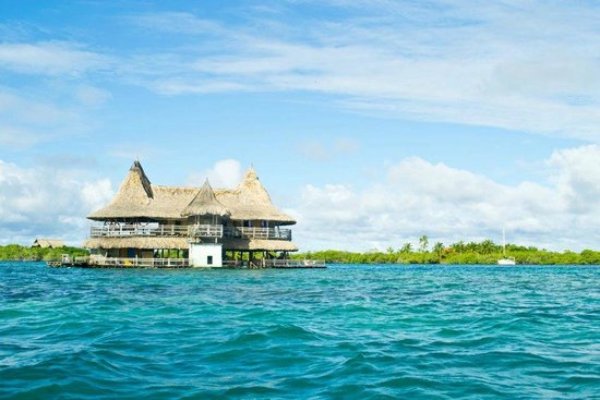 Isla Tintipán, Colombia: The Casa in front of Tintipan