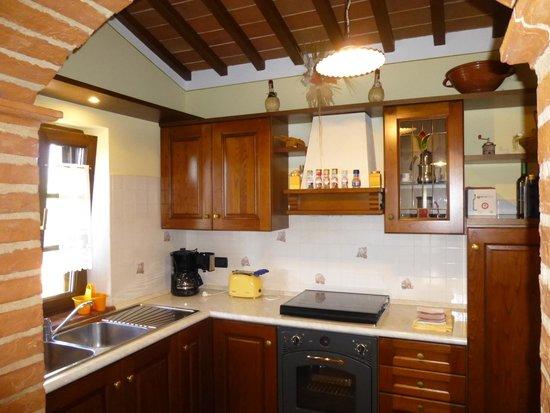 Villa Rosa dei Venti: Kitchen