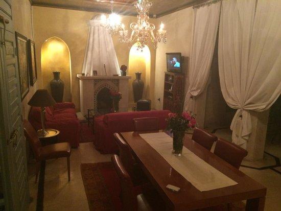 Riad Misria & SPA: Salle a manger