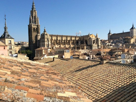 Hotel Santa Isabel: from the roof