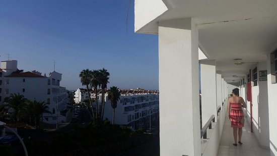 Apartamentos Aguamar: View from the front