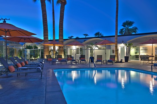 Palm springs romantic getaway