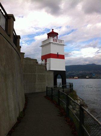 Brockton Point Lighthouse: Lighthouse