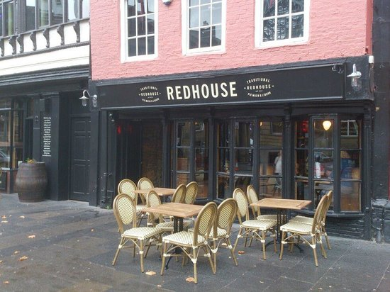 The Redhouse: Exterior