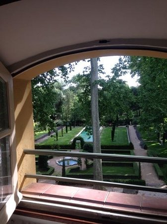 Pavillon de la Torse : Room with a view