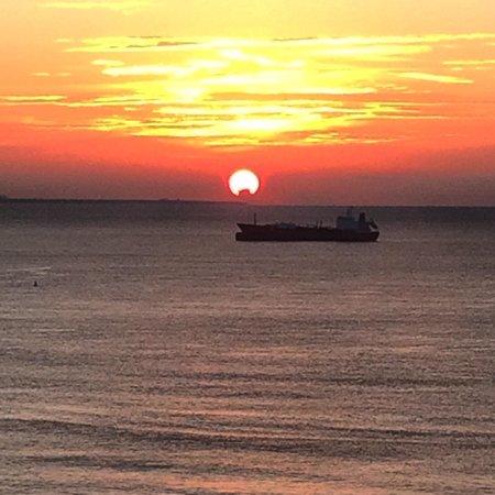 Sheraton Santo Domingo: Así la vista al amanecer