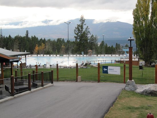 Fairmont Hot Springs, Canada: The pool
