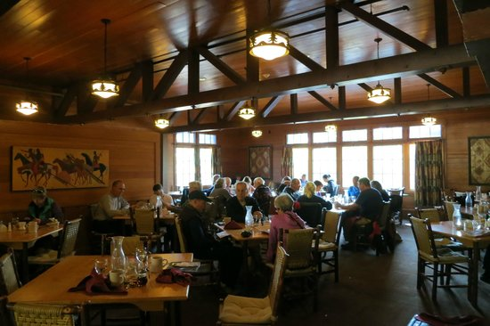Yellowstone National Park Canyon Lodge Dining Room