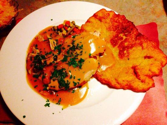 Staropolska Restaurant: Roast Veal & Potato Pancake
