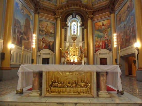 Iglesia y Convento de Santo Domingo: El altar