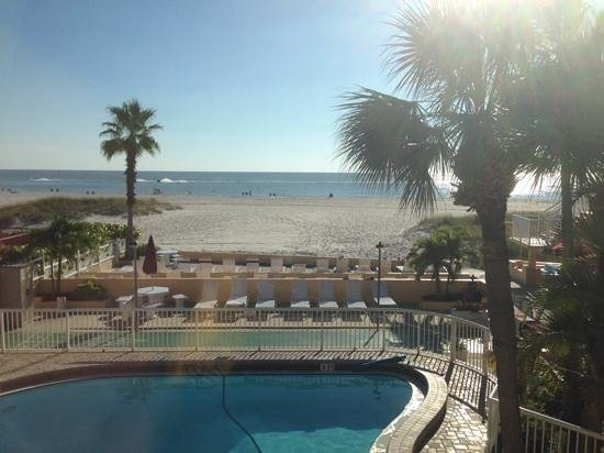 Surf Song Resort: View from room 256