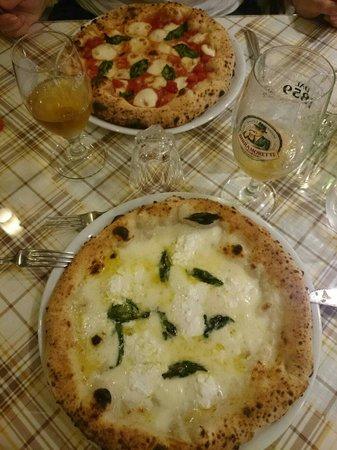 Trattoria Cesari : Our pizza