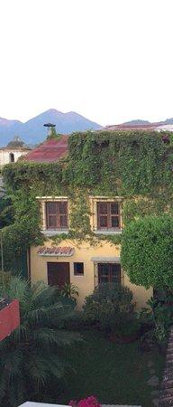 Hotel Casa Rustica: Patio posterior