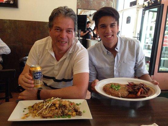 El Pollo Inka Miami: Enjoying!!