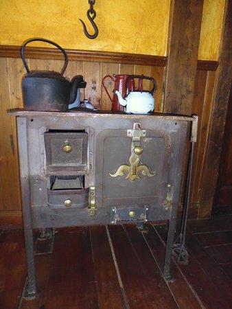 Patagonia Rebelde: Parte del mobiliario de decoración