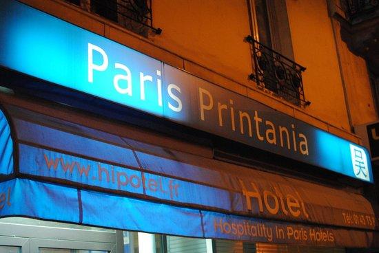 Printania Hotel: Faixada do hotel