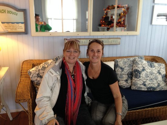 Isabelle's Beach House: Isabelle- the best B&B owner.