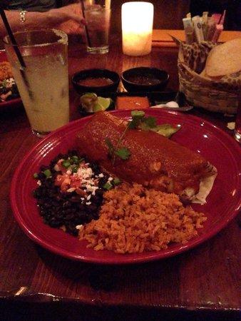 SOL Mexican Cocina: Burrito