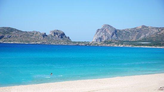 Strand von Elafonissi: Was für ein herrlicher Strand