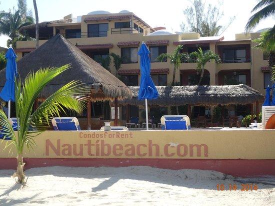 Nautibeach Condos: beach View