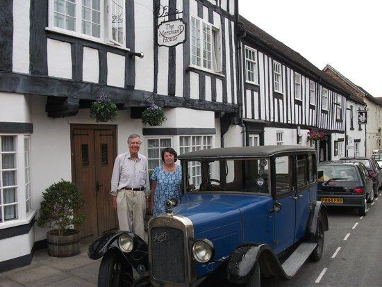 The Merchant House B & B: Jonathan, Rosemary and the Austin