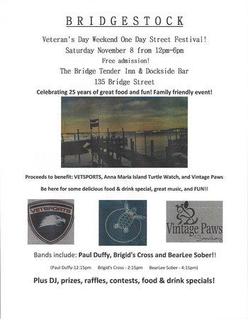 Bridge Tender Inn: BRIDGESTOCK VETERAN'S DAY CELEBRATION NOVEMBER 8 2014