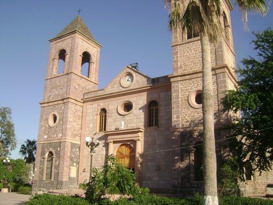 La Paz Cathedral: Frente da catedral