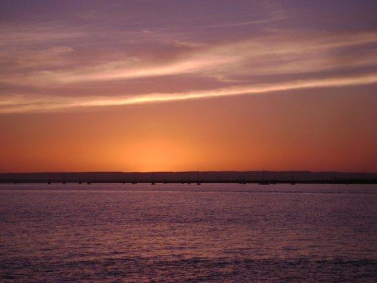 Malecon: Por do sol maravilhoso!