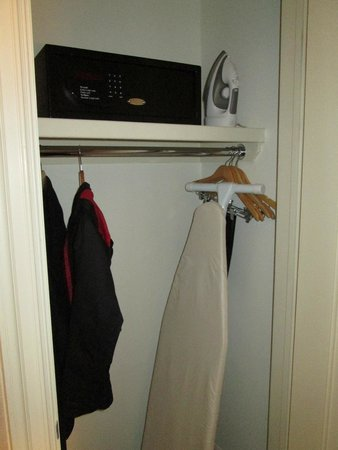Shelburne NYCu2013an Affinia Hotel: Closet With Safe, Iron, And Ironing Board
