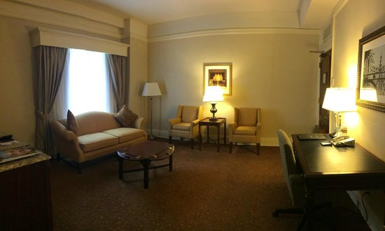 Seelbach Hilton: First part of a suite...