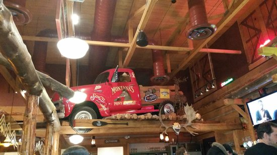 Decor in the rafters montana s cookhouse th