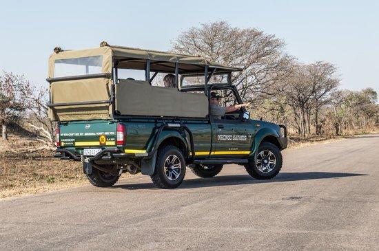 Nhongo Safaris - Day Tours: Open Safari Vehicle
