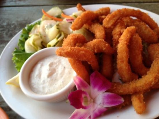 Humpy's Big Island Alehouse: calamari