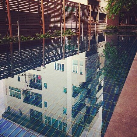 Tenface Bangkok: The mighty pool is lovely