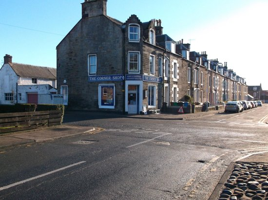 Cellardyke, UK: The Corner Shop