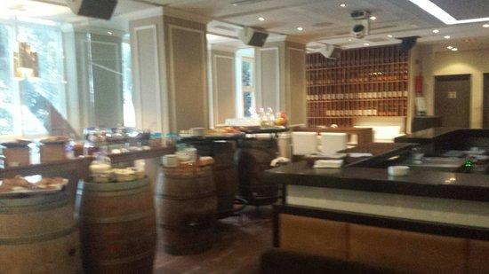 Hotel La Maison-Blanche: Sala colazione