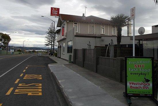 Econo Lodge Napier: Hotel Front