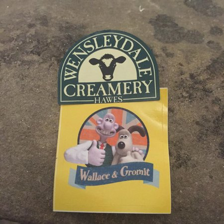 Wensleydale Creamery: Museum Entry Stickers