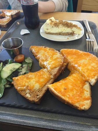 Wensleydale Creamery: Cheese on Toast and Cheesecake (with Wensleydale of course)